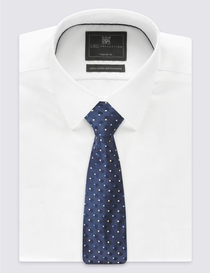 Marks and Spencer Circle Spotted Tie