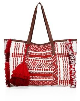FIGUE Sangita Weekend Bag $350 thestylecure.com