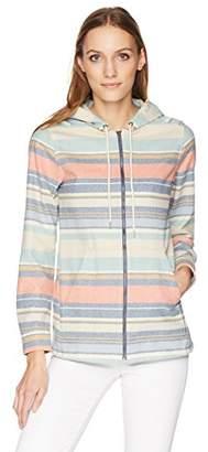 Pendleton Women's Wool Stripe Zip Hoodie