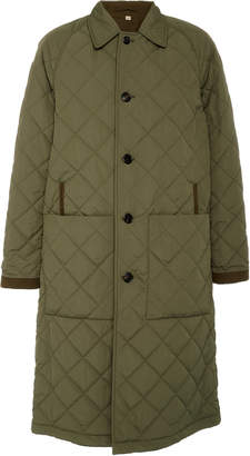 Burberry Reversible Quilted Shell Car Coat