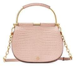 Lauren Ralph Lauren Round Leather Satchel