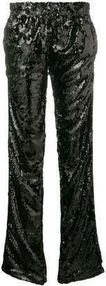 Faith Connexion elasticated waist sequin trousers