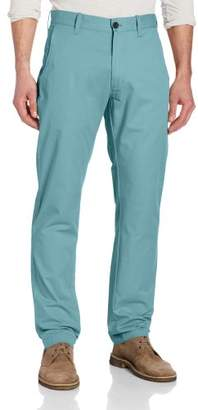 Haggar Men's LK Life Lightweight Slim Fit Flat Front Chino Pant