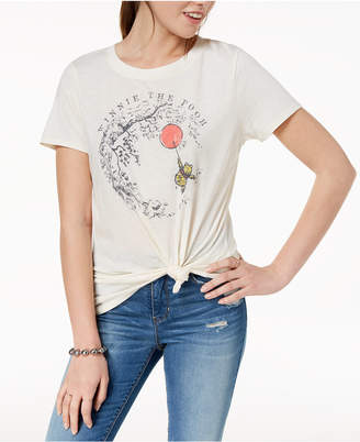 Modern Lux Juniors' Winnie The Pooh Graphic-Print T-Shirt