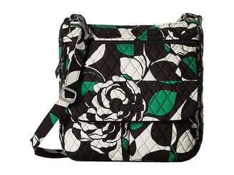 Vera Bradley Double Zip Mailbag Cross Body Handbags
