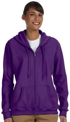 Gildan Heavy Blend Ladies 8 Oz, 50/50 Full-Zip Hood