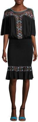 Antik Batik Women's Odelia Smocked Peplum Dress