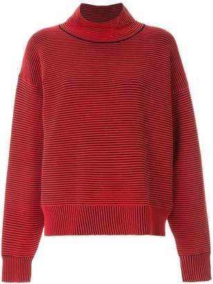 Nagnata ribbed knit turtleneck jumper