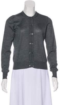 Etro Cashmere & Silk-Blend Cardigan Blue Cashmere & Silk-Blend Cardigan