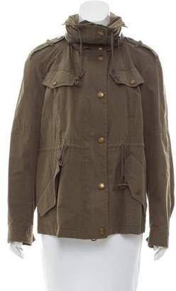 Burberry Drawstring Utility Jacket