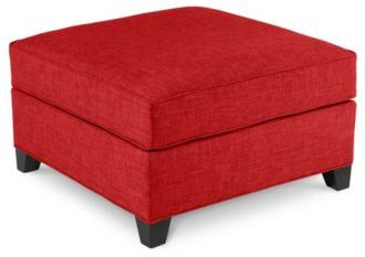 Harper Fabric Ottoman: Custom Colors