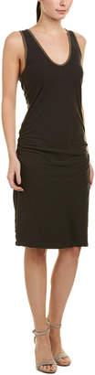 James Perse Tube Linen-Blend Shift Dress