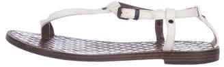 Bottega Veneta Leather Thong Sandals