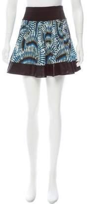 Yigal Azrouel Cut25 by Pleated Mini Skirt