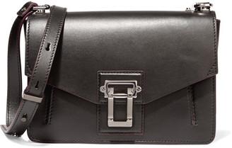 Proenza Schouler - Hava Leather Shoulder Bag - Black $1,550 thestylecure.com