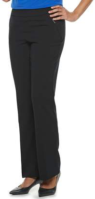 Briggs Women's Straight-Leg Pull-On Dress Pants