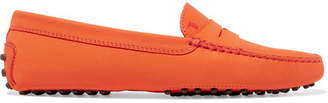 Tod's Gommino Suede Loafers - Orange