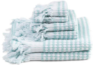 Made In India 6pc Santorini Towel Set