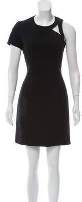 Michael Kors Virgin Wool-Blend Mini Dress