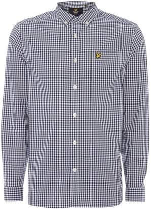 Lyle & Scott Men's Long sleeve gingham check shirt
