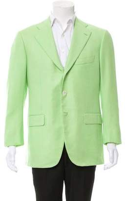 Cesare Attolini Cashmere Three-Button Blazer