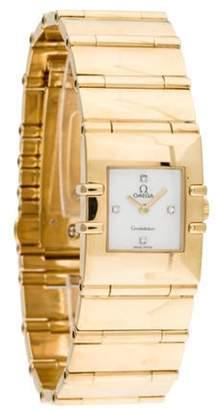 Omega Constellation Watch yellow Constellation Watch