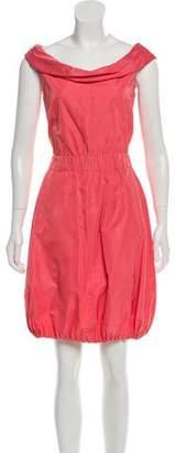 Nina Ricci Satin Mini Dress