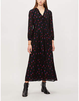 Claudie Pierlot Ripieno jacquard dress