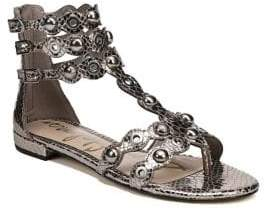 Sam Edelman Desi Leather Gladiator Sandals