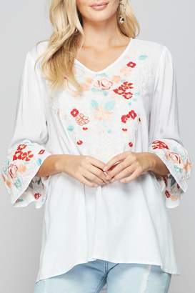 5819758fa35 Embroidered Boho Tops - ShopStyle Canada