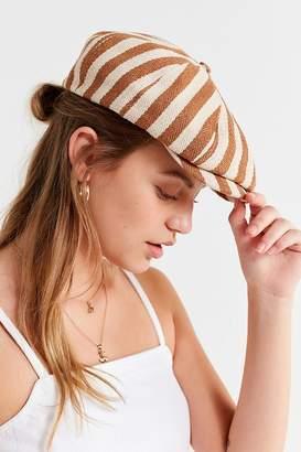 Brixton Brood Snap Tan Stripe Cap