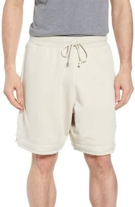 Nike JORDAN Washed Cotton Diamond Logo Shorts