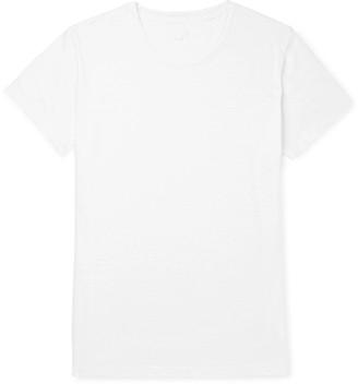120% - Slim-Fit Garment-Dyed Linen T-Shirt - Men - White