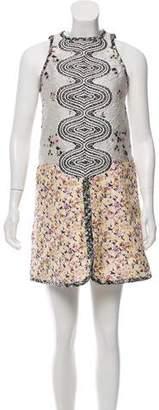 Giambattista Valli Sleeveless Mini Dress