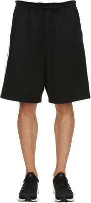 Y-3 Y 3 Striped Shorts W/ Contrasting Side Bands