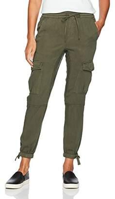Pam & Gela Women's Ankle Tie Tencel Pant