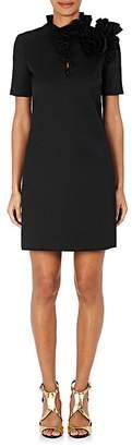 Lanvin Women's Ruffled Twill Shift Dress