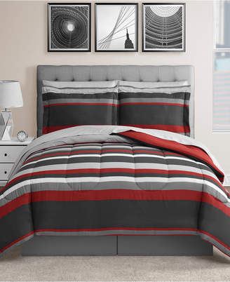 Fairfield Square Collection Austin 8-Pc. Reversible California King Bedding Ensemble Bedding