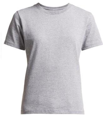 Hanes X Karla - The Crew Cotton Blend T Shirt - Womens - Grey