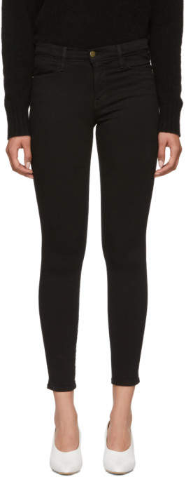 Black Le High Skinny Jeans