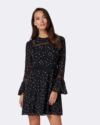 Petite Ramsie Embroidered Dress