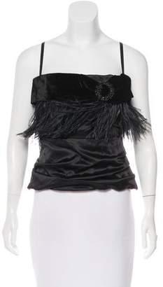 Dolce & Gabbana Embellished Bustier Top