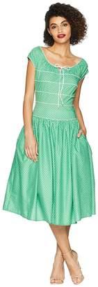 Unique Vintage Jeanie Swing Dress Women's Dress