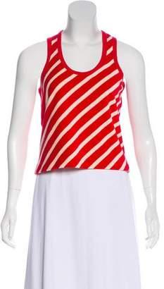 Sonia Rykiel Striped Crop Top