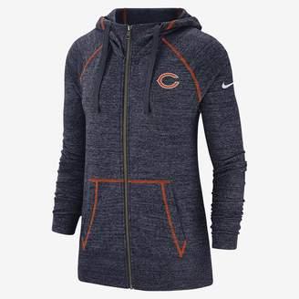 Nike Women's Full-Zip Hoodie Gym Vintage (NFL Bears)