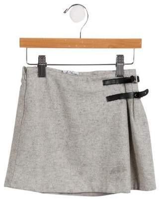 C de C Girls' Wool-Blend Skirt