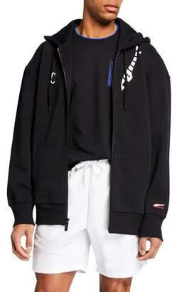 Puma Men's x Ader Zip-Front Graphic Hoodie