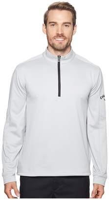 Callaway Heather Waffle-Fleece 1/4 Zip Midlayer Men's Clothing
