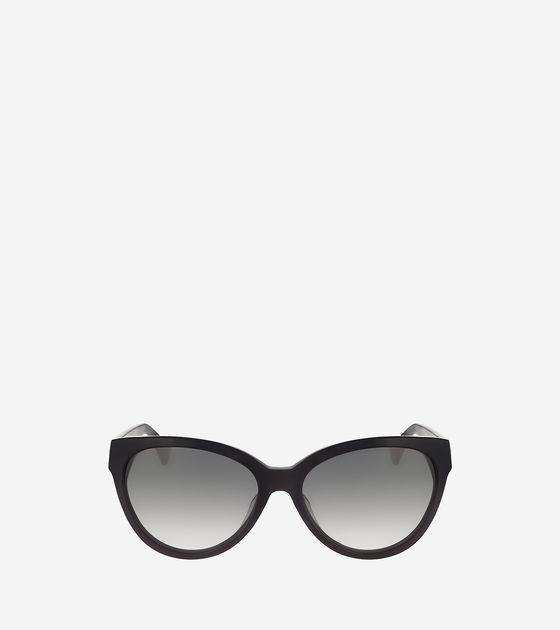 Cole Haan  Cat Eye Acetate Sunglasses