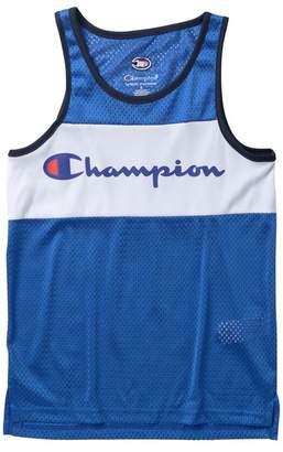 Champion Script Logo Tank Top (Big Boys)